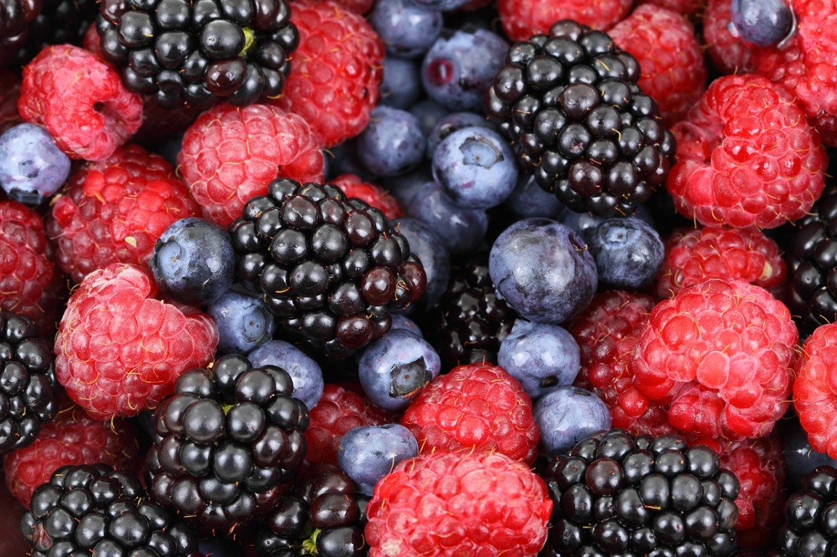Berried Alive by Avenged Veg'tables:  Four Ways to Eat Berries
